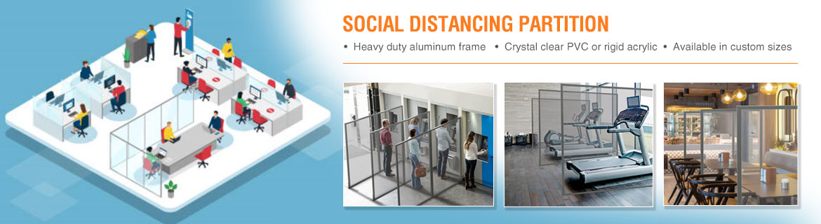 Social Distancing Partitions