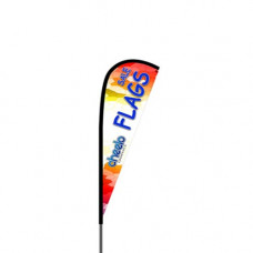 ECO 8' Teardrop Flag