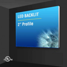 "Wall Mount Light Box 2"" Profile"