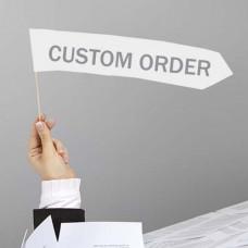 Z-Custom White Fabric Wall
